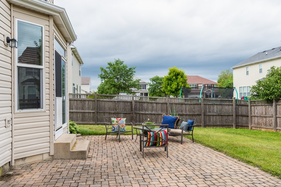 Real Estate Photography - 1306 Dauphin Drive, Joliet, IL, 60431 - Patio