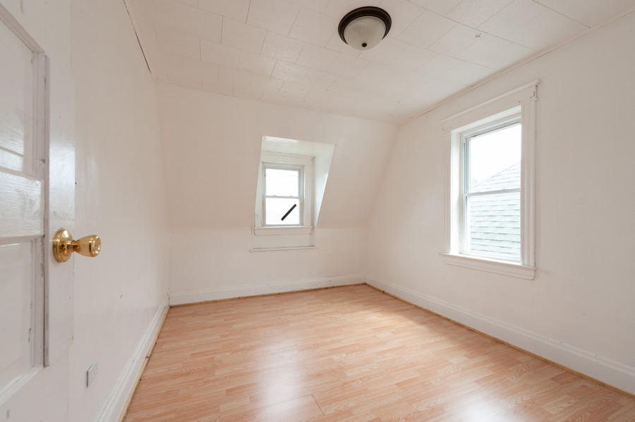 Real Estate Photography - 202 S Butrick Street, Waukegan, IL, 60085 - 2nd Bedroom