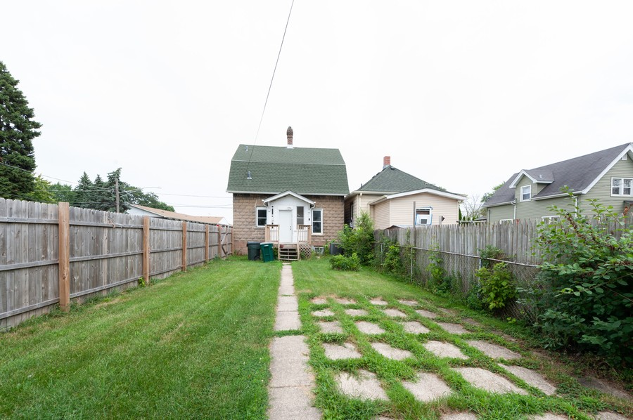 Real Estate Photography - 202 S Butrick Street, Waukegan, IL, 60085 - Rear View