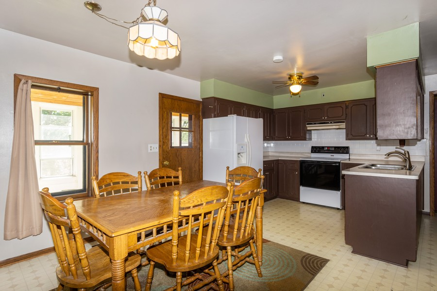 Real Estate Photography - 329 South School Street, Mayville, WI, 53050 - Kitchen