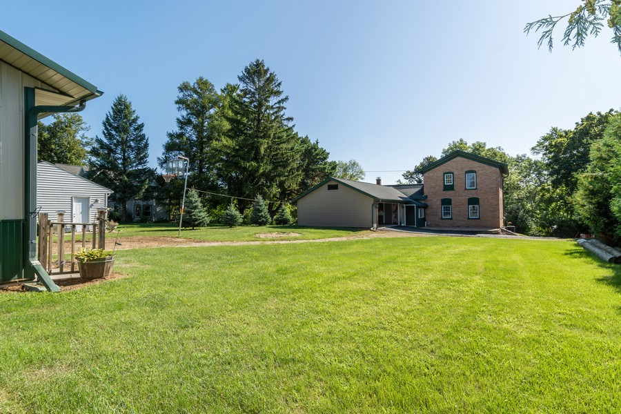 Real Estate Photography - 329 South School Street, Mayville, WI, 53050 - Back Yard