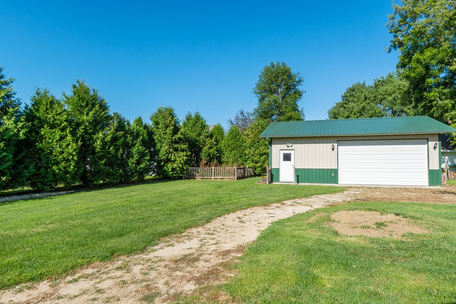 Real Estate Photography - 329 South School Street, Mayville, WI, 53050 - Garage