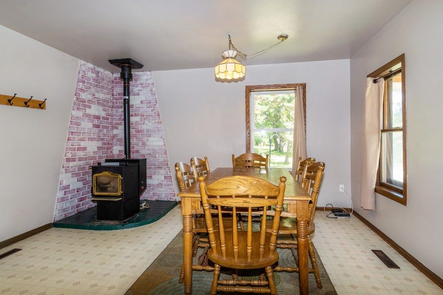 Real Estate Photography - 329 South School Street, Mayville, WI, 53050 - Dining Area
