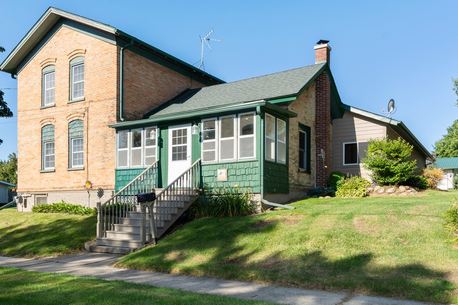 Real Estate Photography - 329 South School Street, Mayville, WI, 53050 - Front View