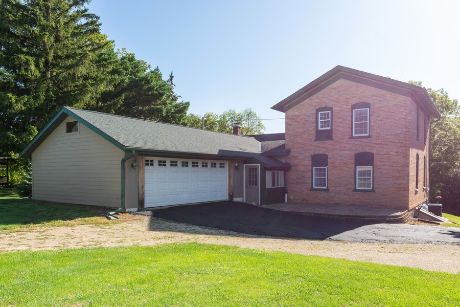 Real Estate Photography - 329 South School Street, Mayville, WI, 53050 - Rear View