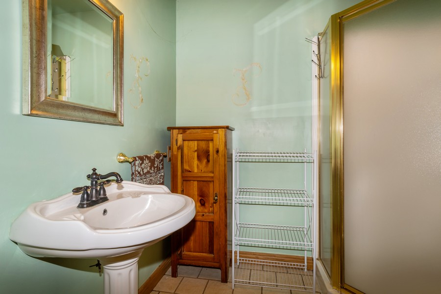Real Estate Photography - 329 South School Street, Mayville, WI, 53050 - Bathroom