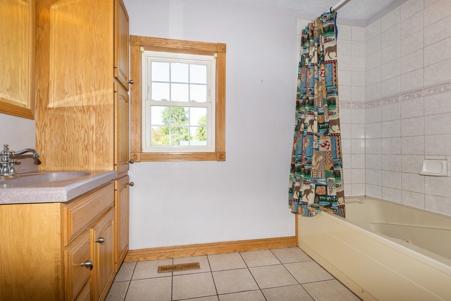 Real Estate Photography - 329 South School Street, Mayville, WI, 53050 - 2nd Bathroom