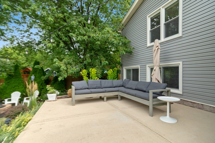 Real Estate Photography - 222 Harvard Lane, Bloomingdale, IL, 60108 - Back Yard
