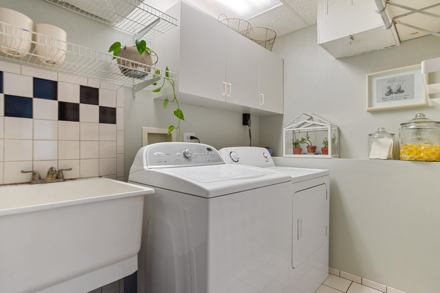 Real Estate Photography - 222 Harvard Lane, Bloomingdale, IL, 60108 - Laundry Room