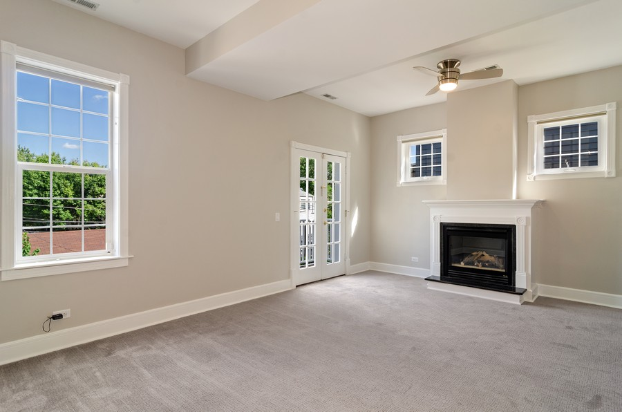 Real Estate Photography - 3545 N Damen, Chicago, IL, 60618 - Master Bedroom