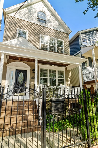 Real Estate Photography - 3545 N Damen, Chicago, IL, 60618 - Front View