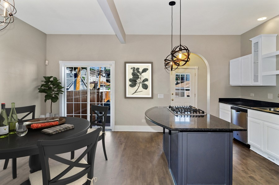 Real Estate Photography - 3545 N Damen, Chicago, IL, 60618 - Dining Room