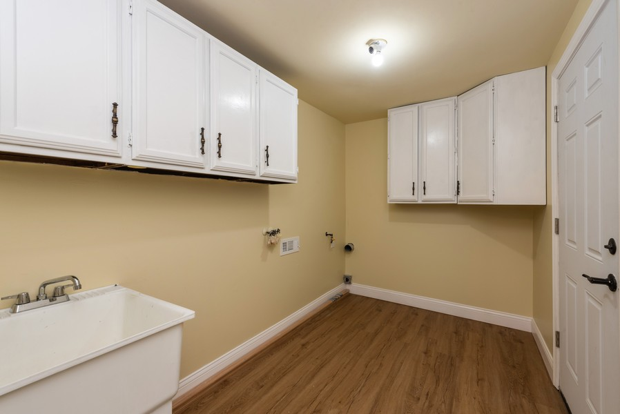 Real Estate Photography - 1709 W 97th Ave, Crown Point, IN, 46307 - Laundry Room