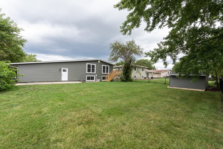 Real Estate Photography - 1709 W 97th Ave, Crown Point, IN, 46307 - Rear View