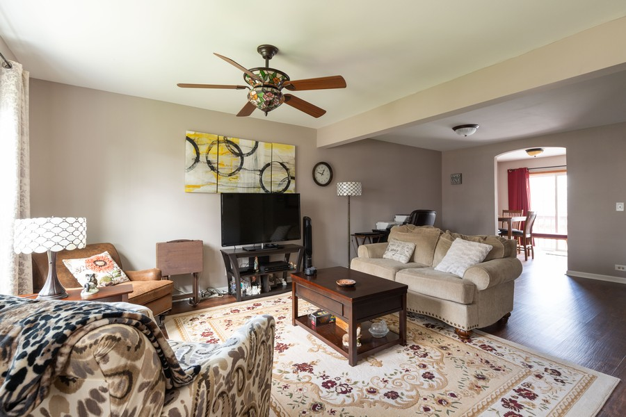 Real Estate Photography - 718 Tiffany Ct, Antioch, IL, 60002 - Living Room
