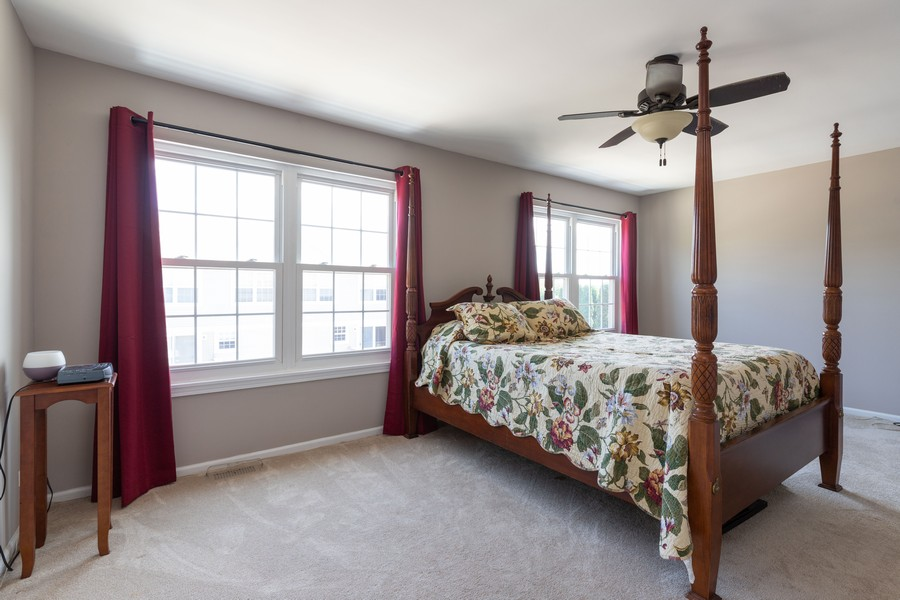 Real Estate Photography - 718 Tiffany Ct, Antioch, IL, 60002 - Master Bedroom
