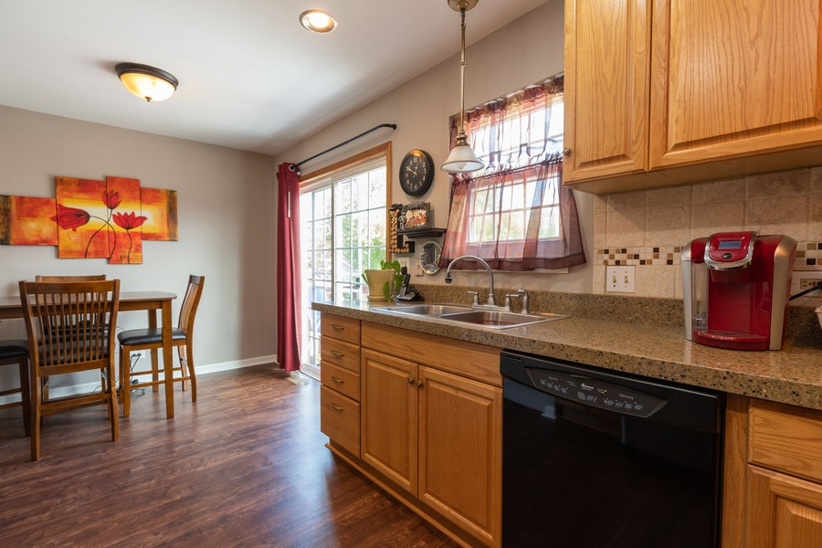Real Estate Photography - 718 Tiffany Ct, Antioch, IL, 60002 - Kitchen / Breakfast Room
