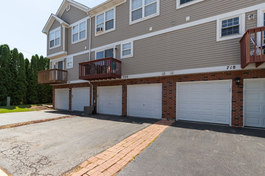 Real Estate Photography - 718 Tiffany Ct, Antioch, IL, 60002 - Rear View