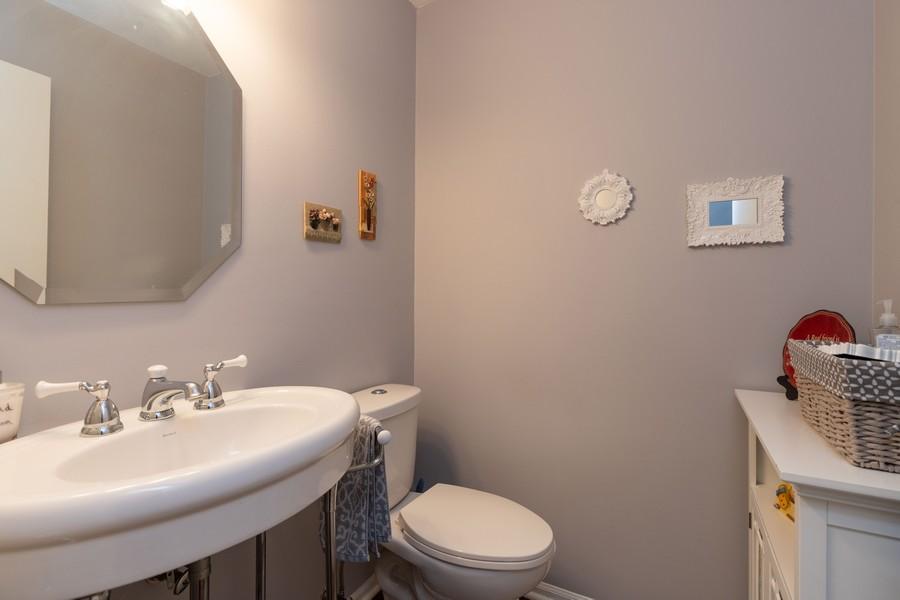 Real Estate Photography - 718 Tiffany Ct, Antioch, IL, 60002 - Half Bath