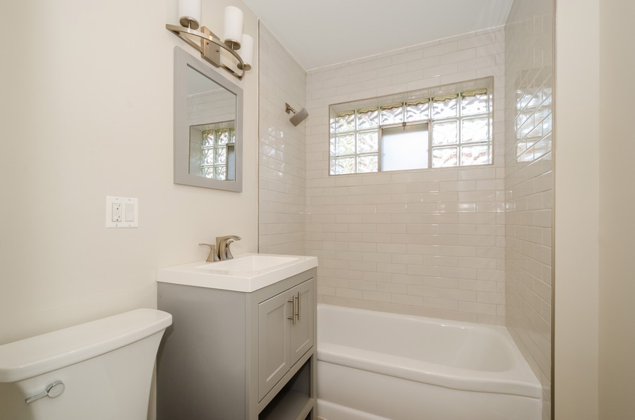 Real Estate Photography - 639 Forestview, Park Ridge, IL, 60068 - Bathroom