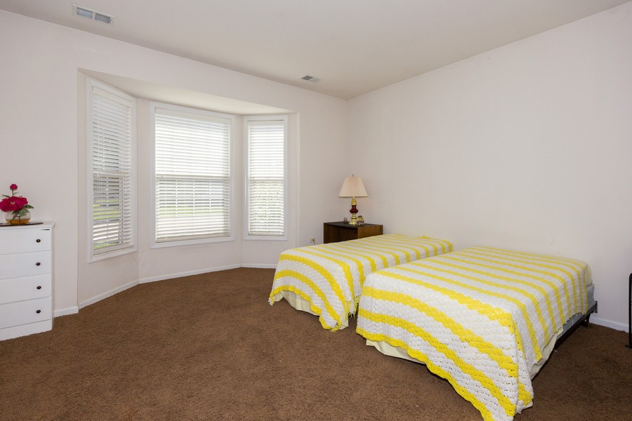 Real Estate Photography - 17208 Como Ave., Lockport, IL, 60441 - 2nd Bedroom