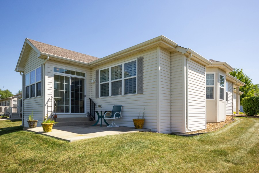 Real Estate Photography - 17208 Como Ave., Lockport, IL, 60441 - Rear View