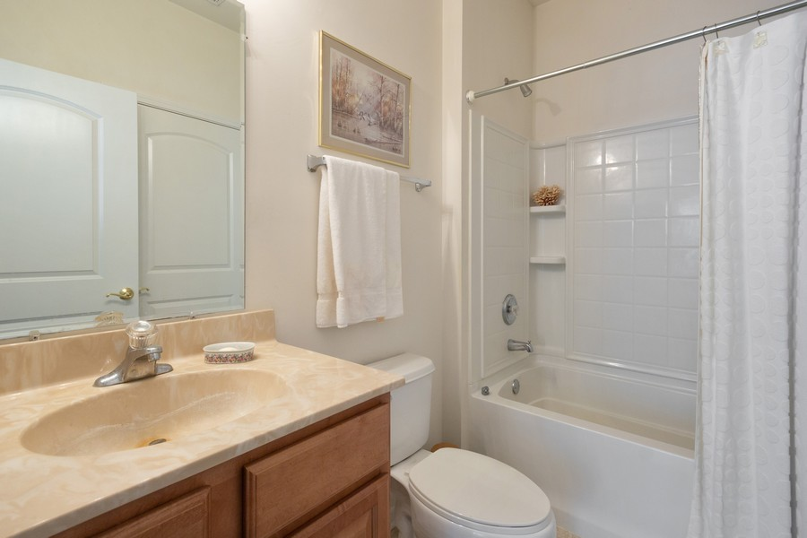 Real Estate Photography - 17208 Como Ave., Lockport, IL, 60441 - Bathroom