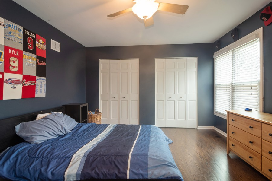 Real Estate Photography - 2206 E Hunter, Arlington Heights, IL, 60004 - Bedroom