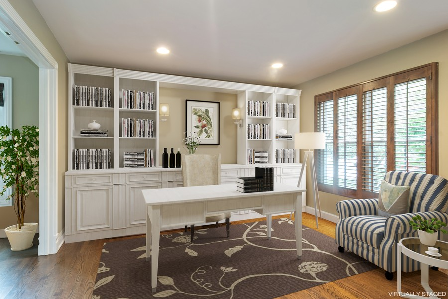 Real Estate Photography - 2206 E Hunter, Arlington Heights, IL, 60004 - Den