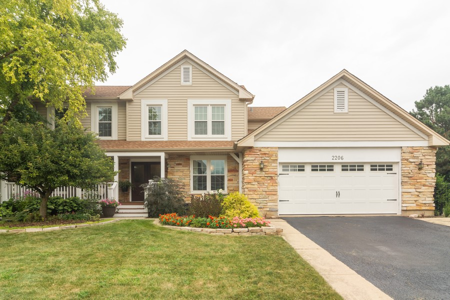 Real Estate Photography - 2206 E Hunter, Arlington Heights, IL, 60004 - Front View