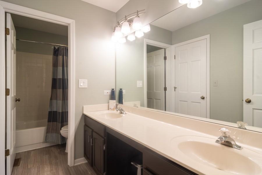 Real Estate Photography - 2206 E Hunter, Arlington Heights, IL, 60004 - Bathroom