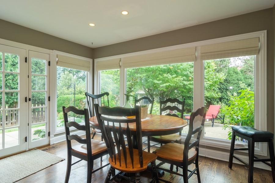 Real Estate Photography - 2206 E Hunter, Arlington Heights, IL, 60004 - Breakfast Nook