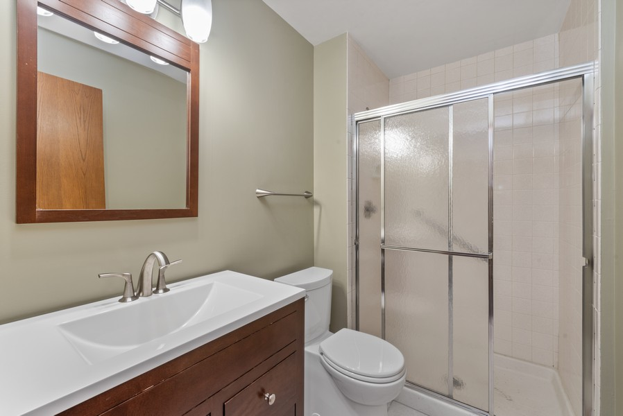 Real Estate Photography - 457 - B Fisher Street, Munster, IN, 46321 - 2nd Bathroom