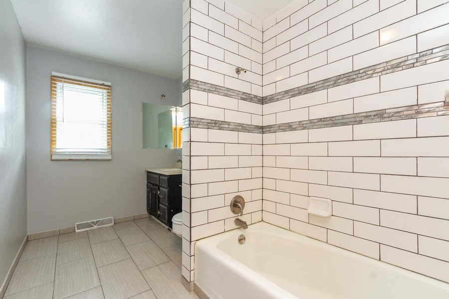 Real Estate Photography - 500 E 78th Pl, Merrillville, IN, 46410 - Bathroom