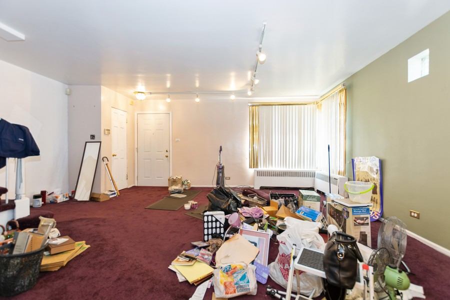 Real Estate Photography - 8347 S Ingleside Ave, Chicago, IL, 60619 - Living Room