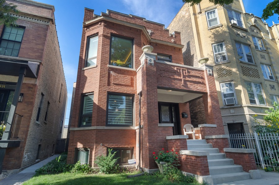 Real Estate Photography - 2306 W Giddings St, Chicago, IL, 60625 - Front View