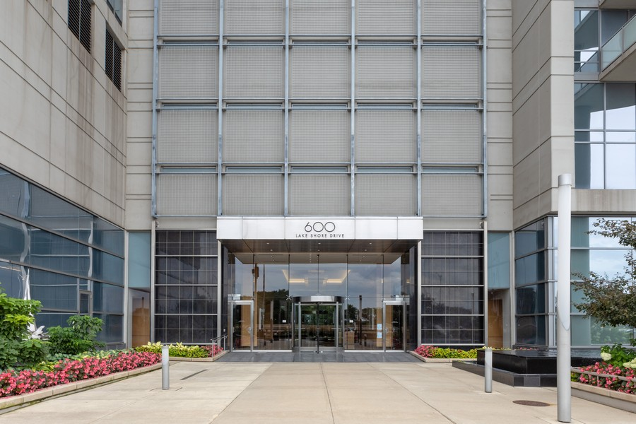 Real Estate Photography - 600 N. Lake Shore Drive, Unit 2412, Chicago, IL, 60611 - Front View