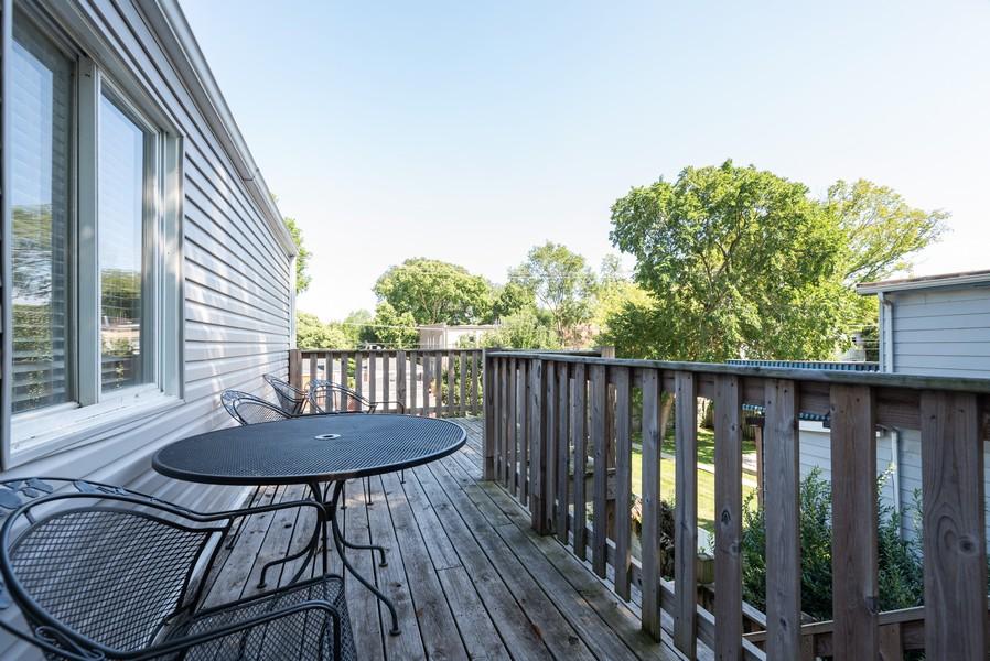 Real Estate Photography - 1747 Hartrey Avenue, Evanston, IL, 60201 - Deck