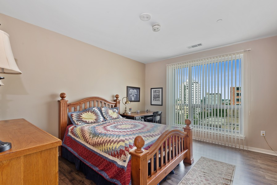 Real Estate Photography - 1522 N Prospect Ave Unit 1104, Milwaukee, WI, 53202 - Bedroom