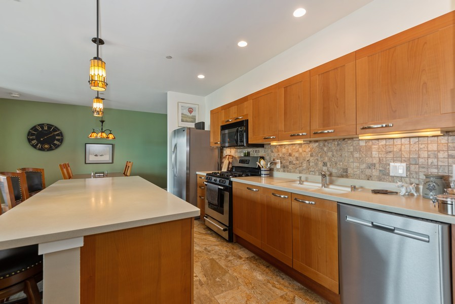 Real Estate Photography - 1522 N Prospect Ave Unit 1104, Milwaukee, WI, 53202 - Kitchen