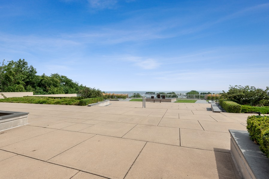 Real Estate Photography - 1522 N Prospect Ave Unit 1104, Milwaukee, WI, 53202 - Deck