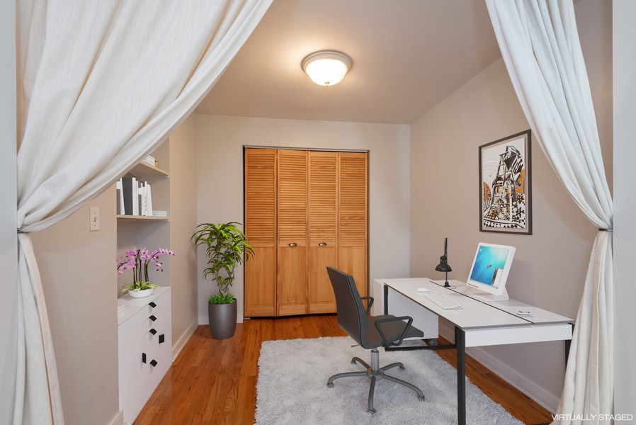 Real Estate Photography - 2732 Hampton Parkway #DG, Evanston, IL, 60201 - Private office - could be another bedroom