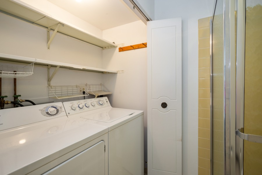 Real Estate Photography - 1314 S. New Wilk Road, Unit 1C, Arlington Heights, IL, 60005 - Laundry Room