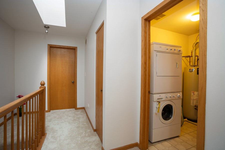 Real Estate Photography - 1955 Lilac Ct, Schaumburg, IL, 60193 - Laundry Room