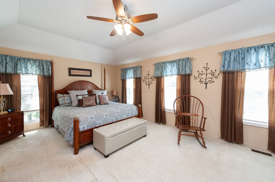 Real Estate Photography - 34032 N. Wooded Glen, Grayslake, IL, 60030 - Master Bedroom