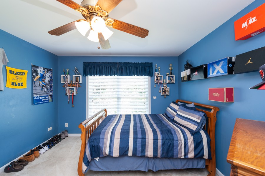 Real Estate Photography - 34032 N. Wooded Glen, Grayslake, IL, 60030 - 3rd Bedroom