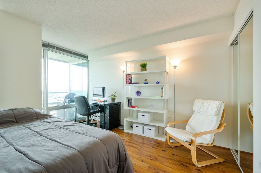 Real Estate Photography - 9715 N Woods, Unit 1109, Skokie, IL, 60077 - 2nd Bedroom
