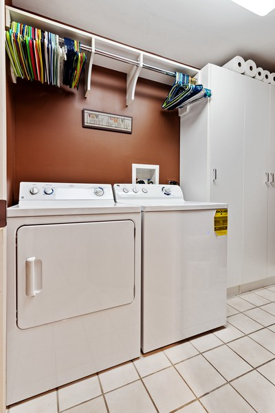 Real Estate Photography - 610 Robert York, Deerfiled, IL, 60015 - Laundry Room