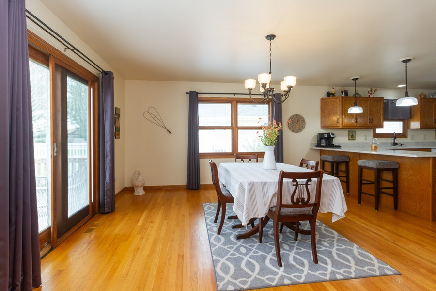 Real Estate Photography - 1956 Claire Ct, Bourbanias, IL, 60914 - Dining Room