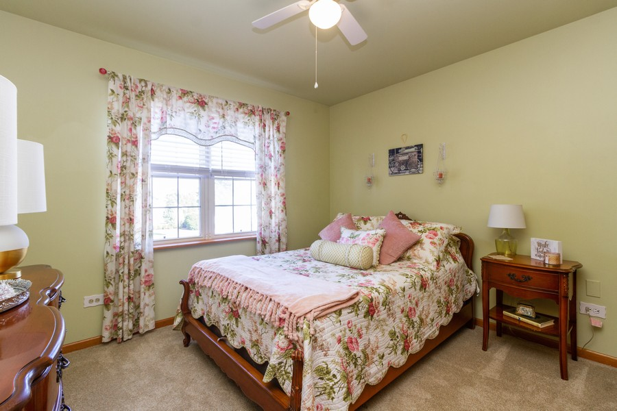 Real Estate Photography - 5 Layden Circle, Manteno, IL, 60950 - 2nd Bedroom